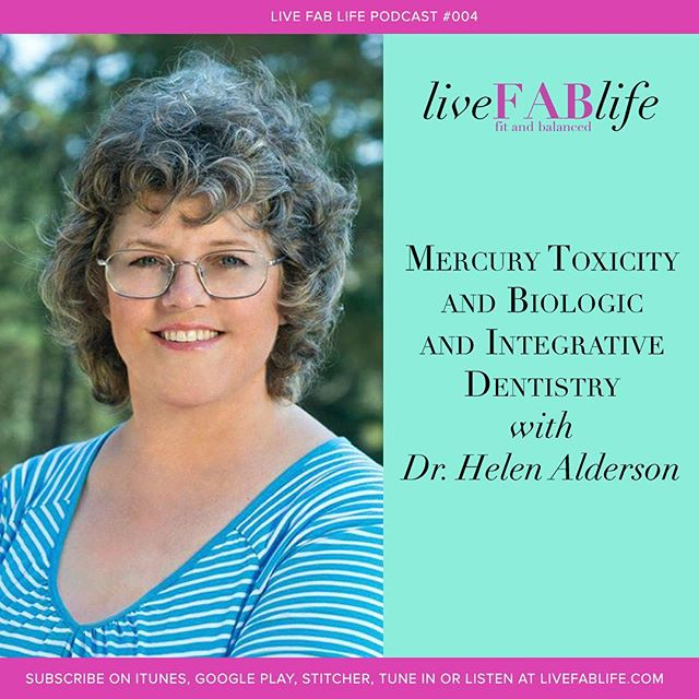 NEW PODCAST EPISODE: This week I'm joined by @helendds, for a conversation on Mercury Toxicity and Biologic and Integrative Dentistry. • Dr. Alderson is a naturopath and a biologic and integrative dentist - in fact, she's my own personal dentist! • Back in May I received lab test results indicating very high levels of lead and mercury. I was told to see my dentist to get my fillings checked out. So I did, and had a very interesting conversation with Dr. Alderson on mercury. I learned that so many other people have also experienced problems with mercury so I invited her to continue our conversation in this episode. • I hope you enjoy this fascinating conversation as much as I did! • You can read show notes at www.livefablife.com/004, or click on the link in my profile.
