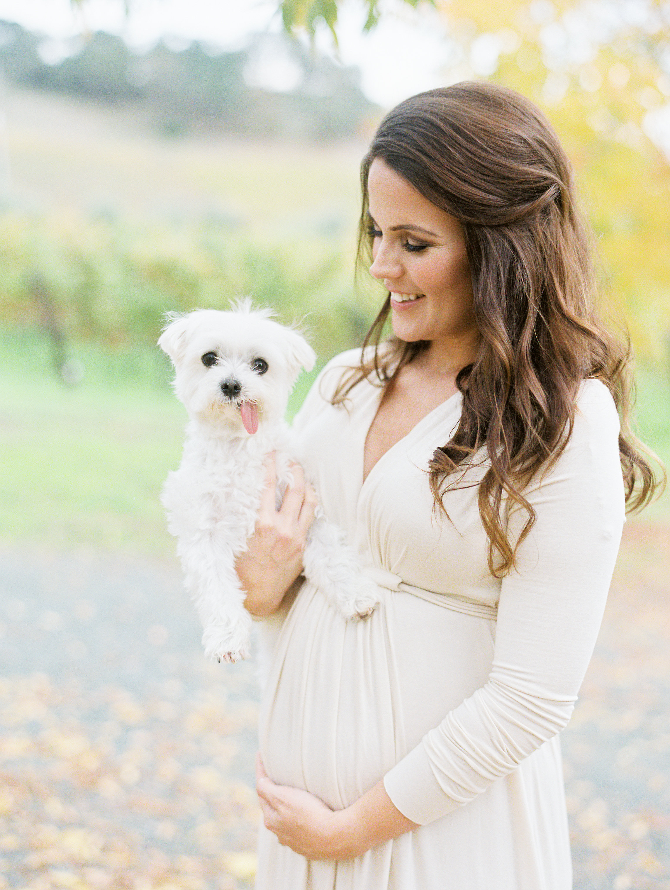 Yountville Maternity Session