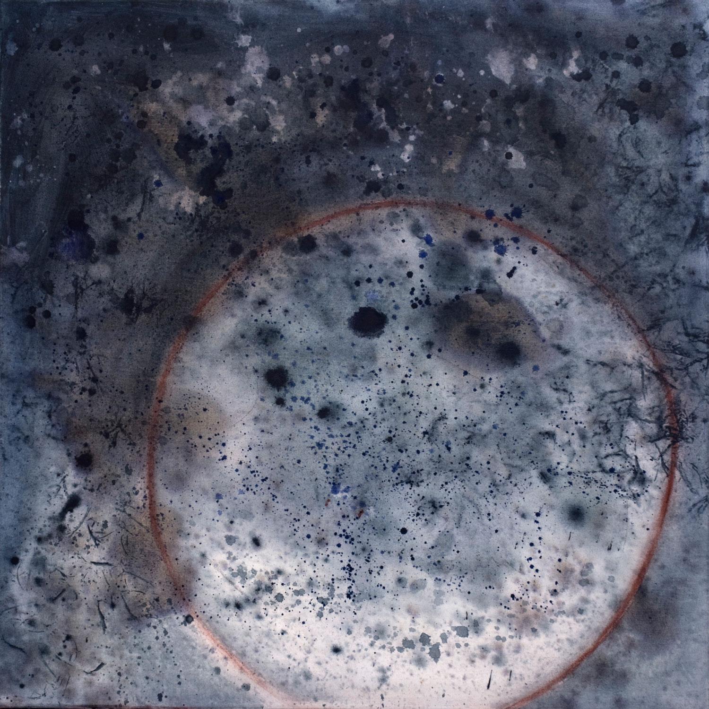 Képler No 2 acrylique sur toile 91 x 91 cm