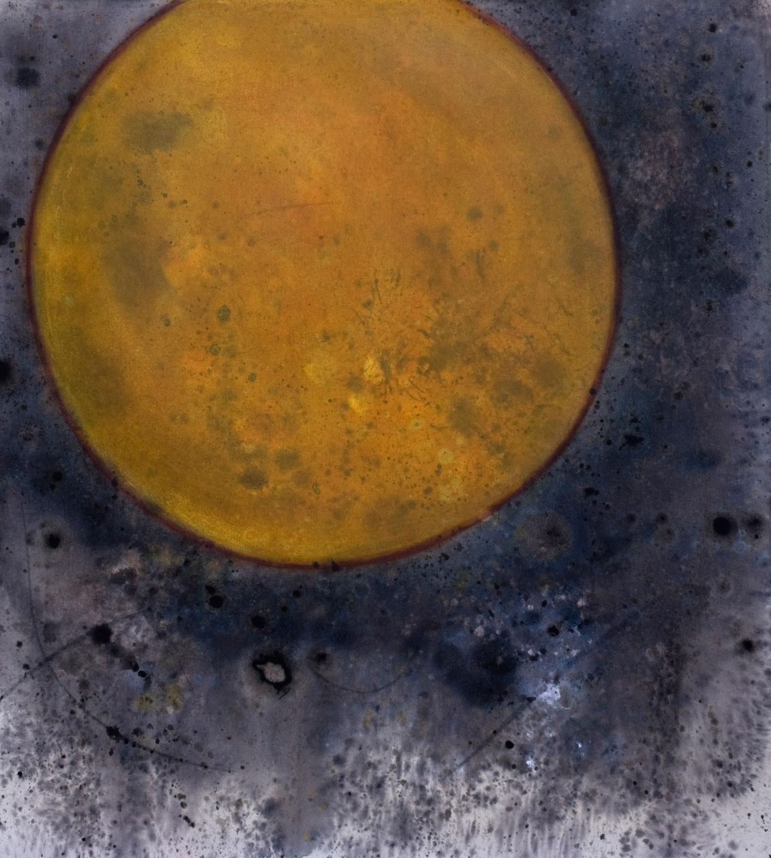 Képler No3 acrylique sur toile 101 x 91 cm