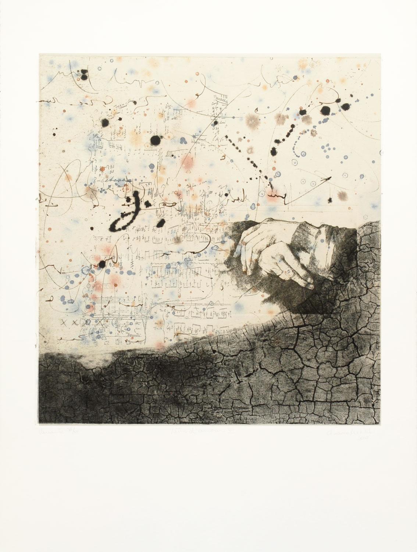 lettre d'amour VI, 76 x 56 cm