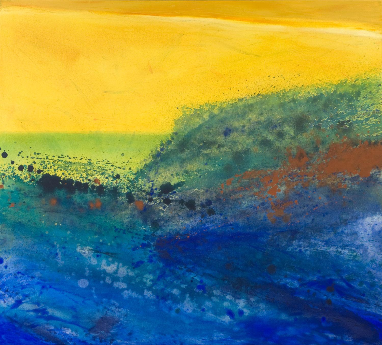 Horizon acrylique sur toile 91 x102 cm