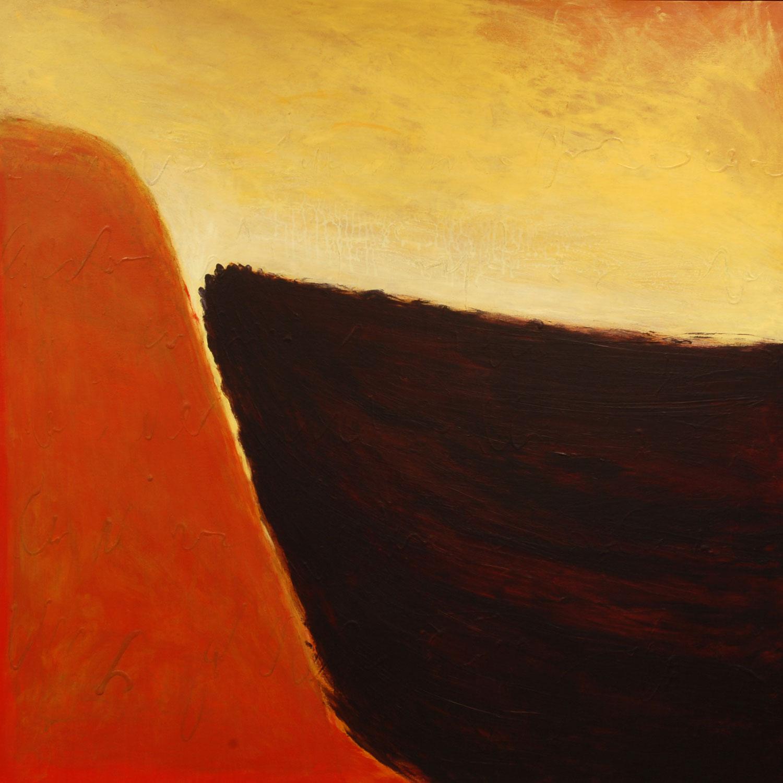 rendez-vous acrylique sur toile 118 x 118 cm