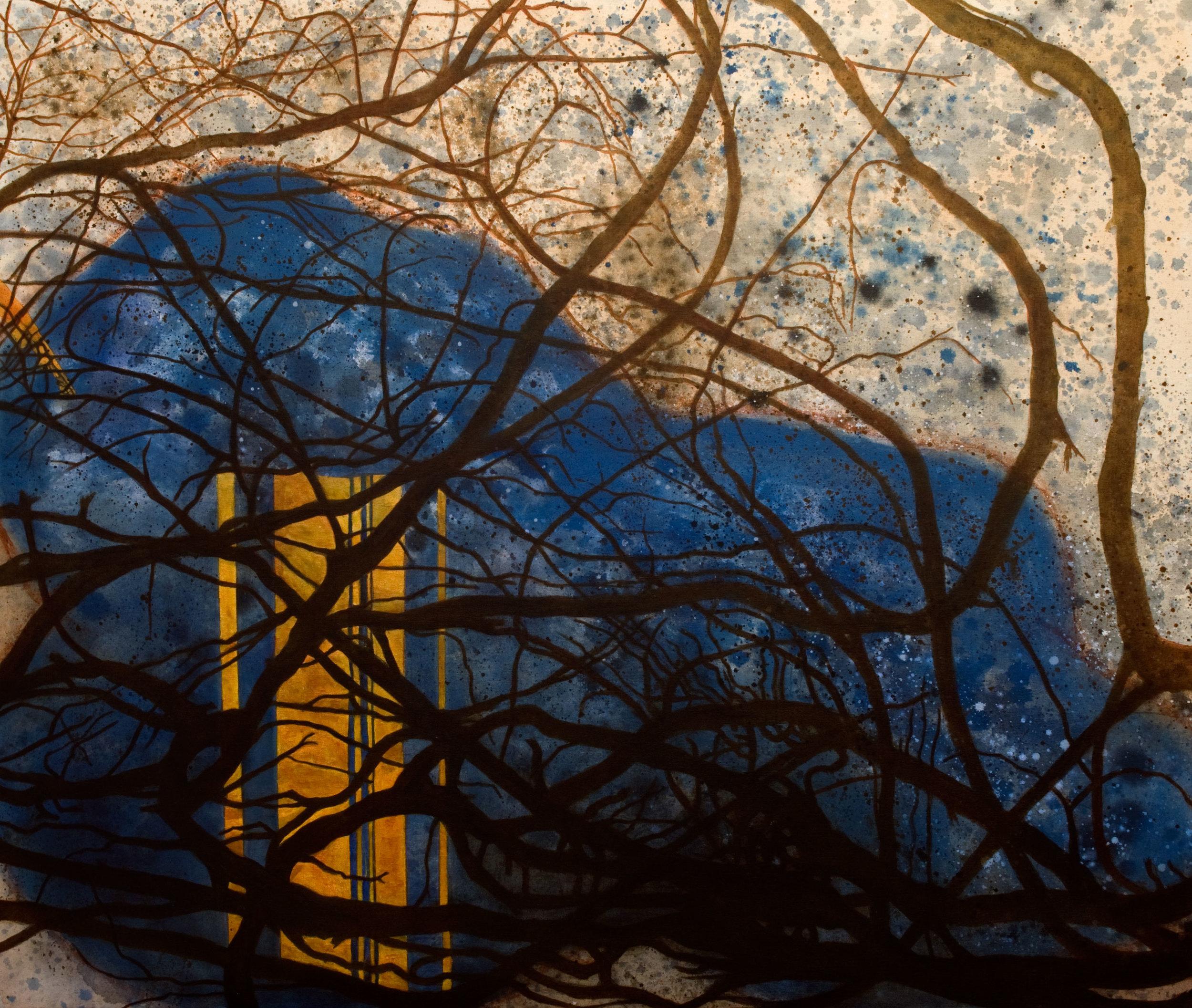 MR-826_figure no 2  acrylique sur toile 102 x 122 cm
