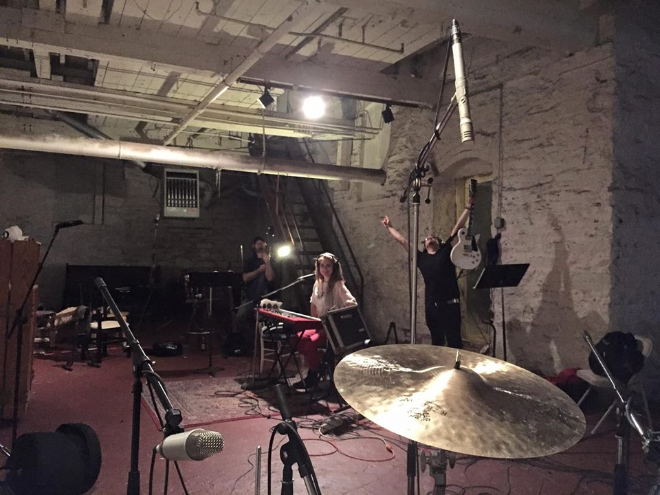 tracking drums @Martin Bisi Studios NYC
