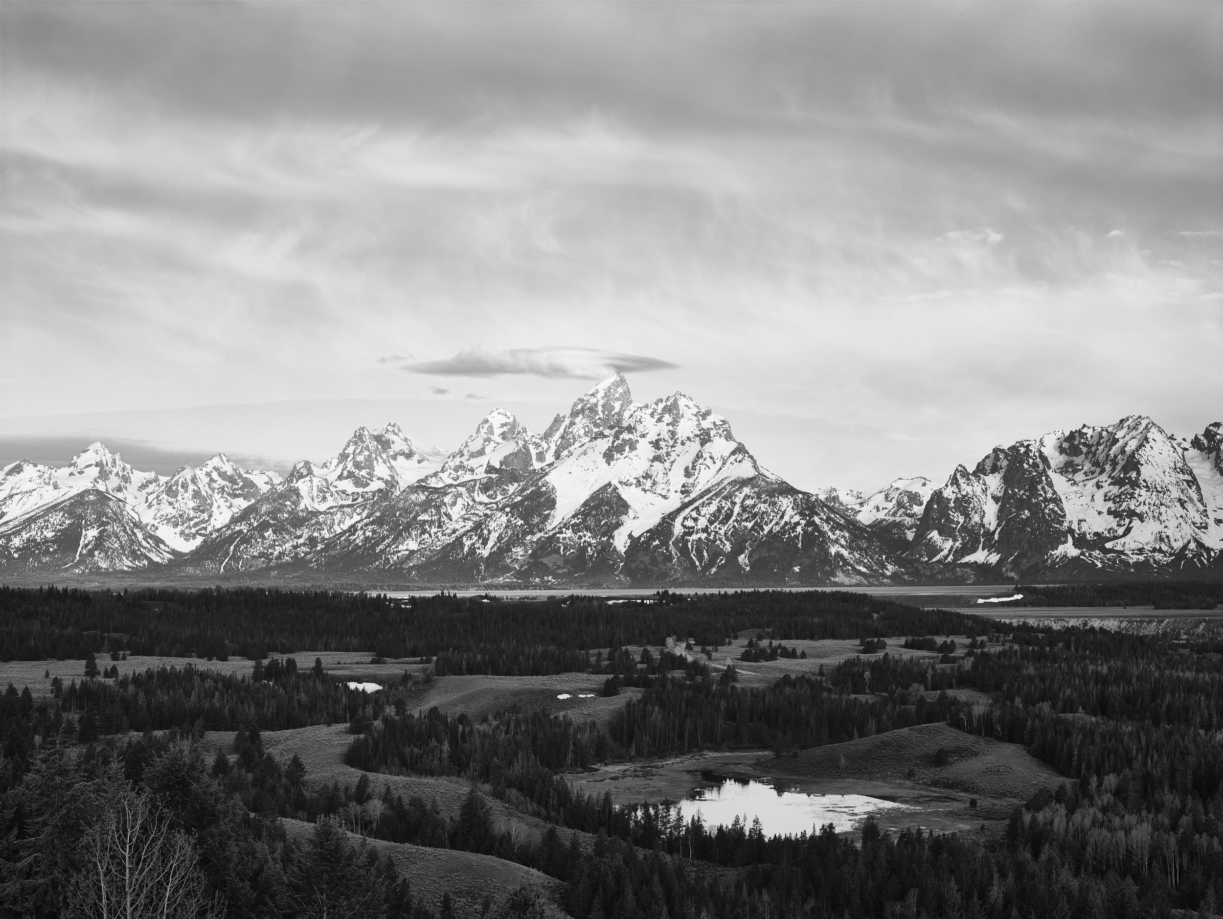 """Even after being converted to black & white with some light post-processing, this image still fails """"the squint test."""" This image needs a grad filter."""