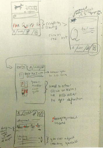 Concept 3.  Mobile App