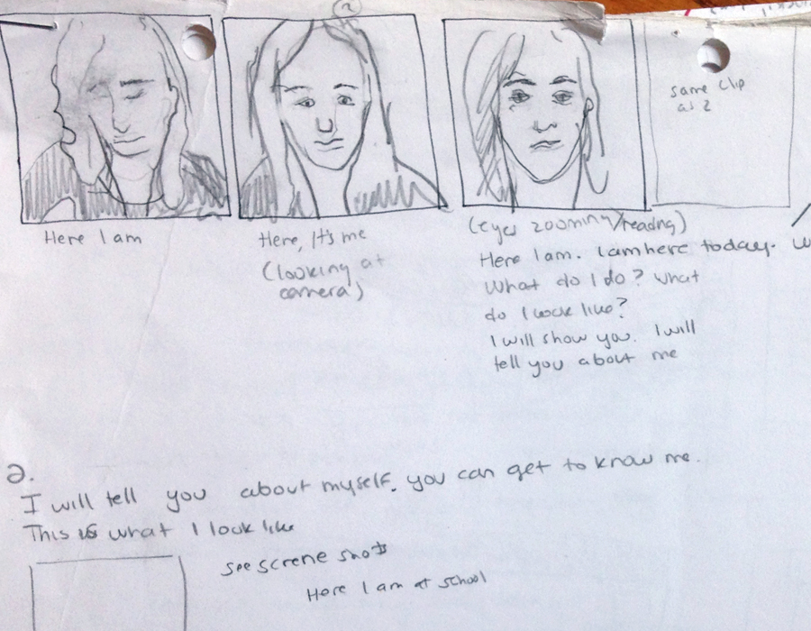 Storyboarding for updated film.