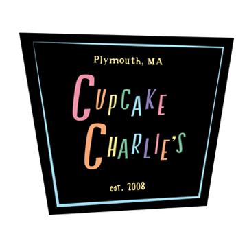 This student redesigned the visual identity for Cupcake Charlie's, after it was on Food Network's Cupcake Wars.