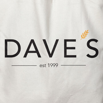 Replacing an existing Comic Sans logo, this student updated Dave's Fresh Pasta.