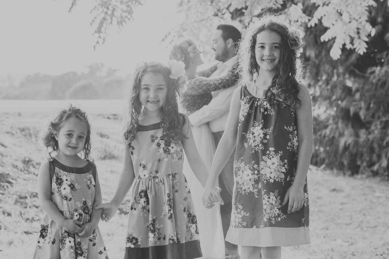 Sunlit family portrait at Wilder Ranch