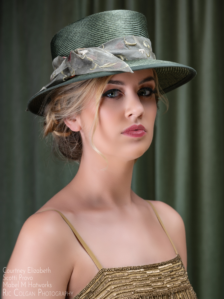 Michale's Olive Trench Fedora 2.jpg