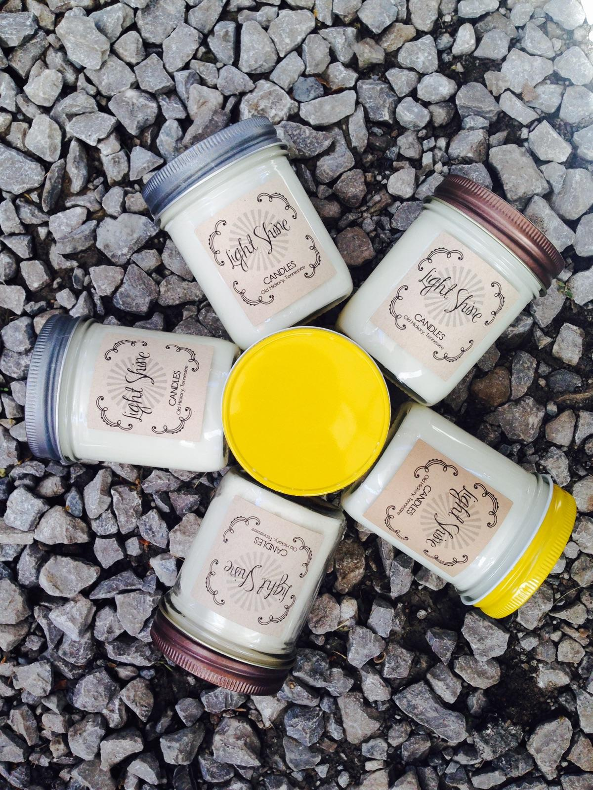 handpoured soy candles