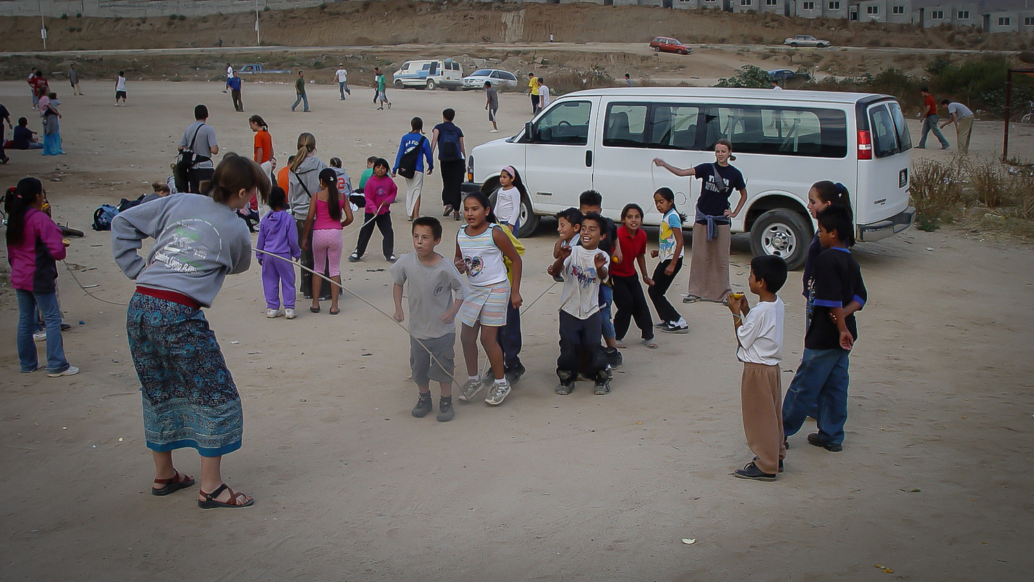 - I began serving with SLAM in 2002. This picture is from a SLAM trip to serve in Ensenada, Mexico.