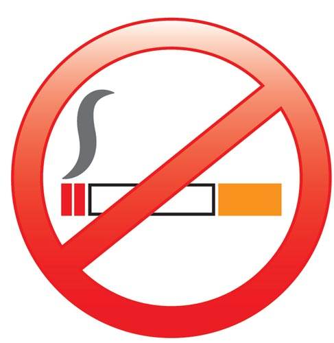 Click the icon above to learn more about smoking cessation.