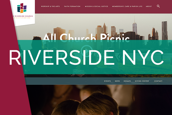 Riverside Church   My part in this project was mainly on their website revamping, which is now live. As well as email templates, social media, On the price side I helped with letterheads, business cards and flyers.
