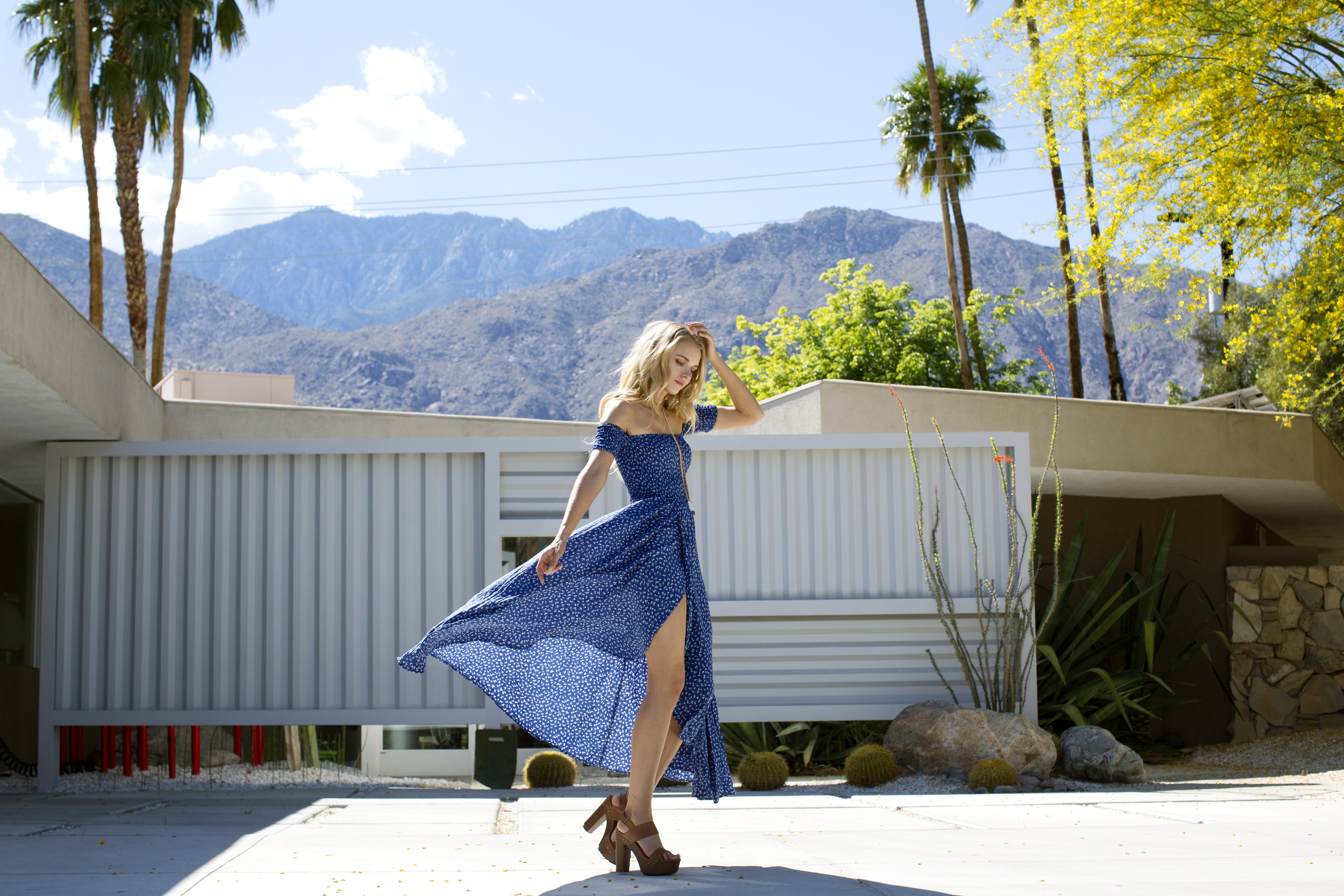 Tracy Kristine in Palm Springs by Paulina Perrucci