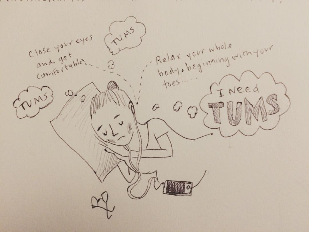 Oct 8th: TUMS. #inktober #dirtbabycomic
