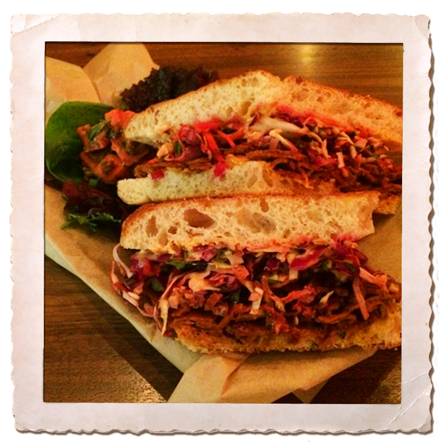 Our Rachel - a vegan twist on this classic sandwich