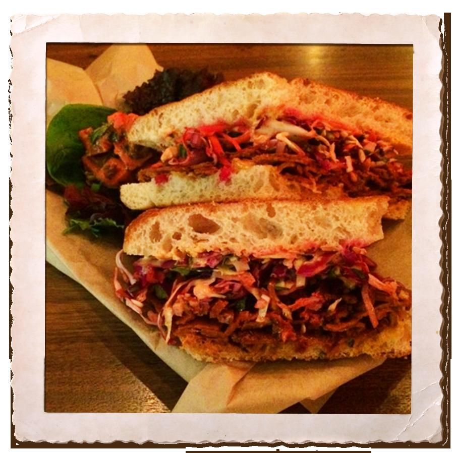 Our Rachel - a vegan twist on this classic sandwich
