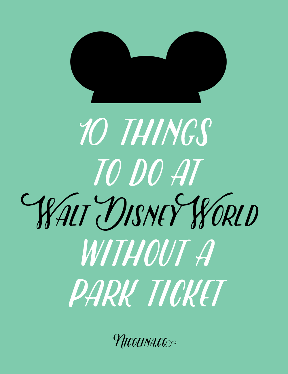 10 Things to do at WDW without a park ticket