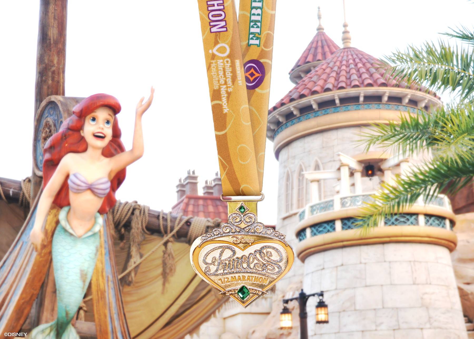 2016 Disney Princess Half Marathon Medal