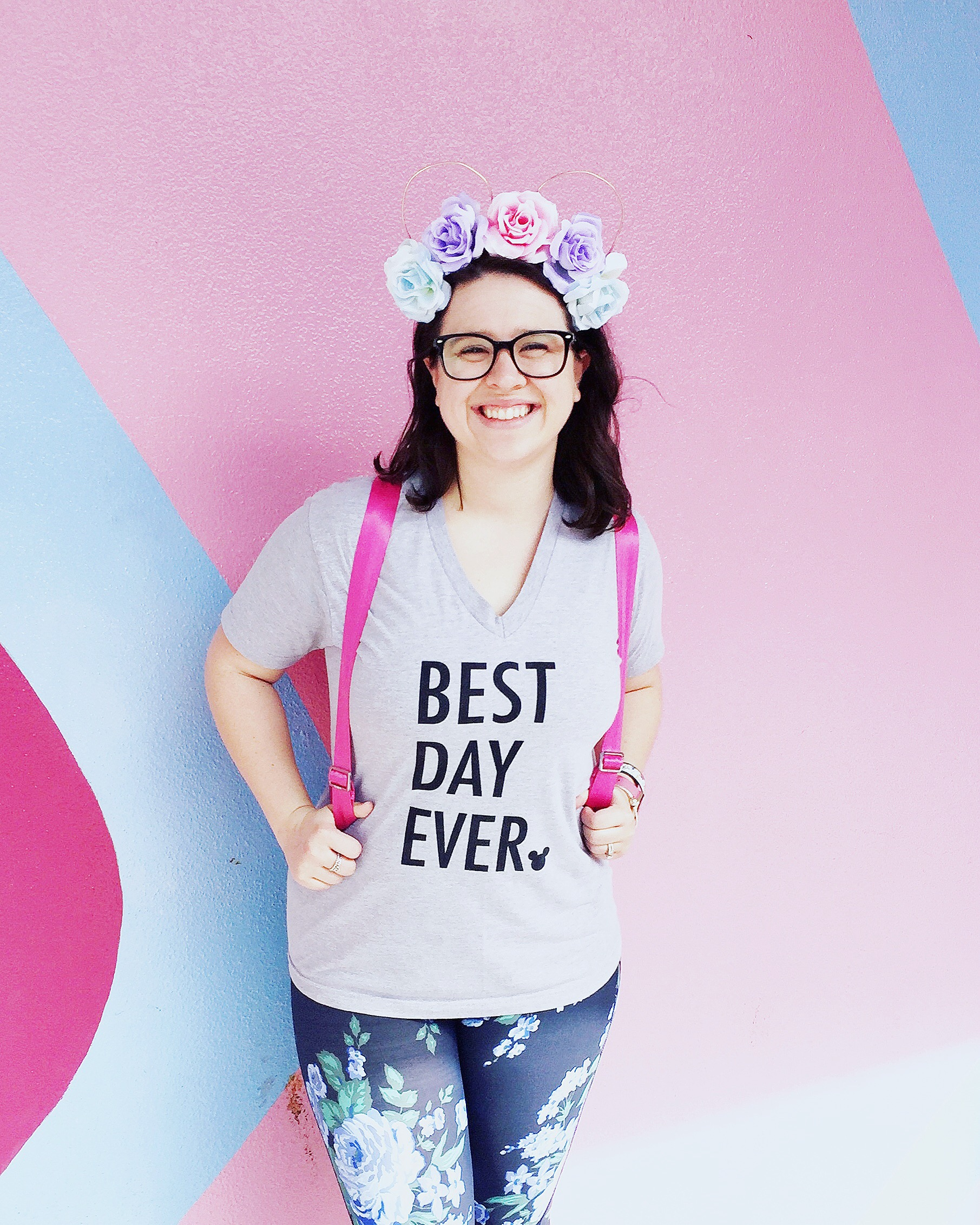 My tee is from  Happily Ever Tees  and leggings are from  Albion Fit .