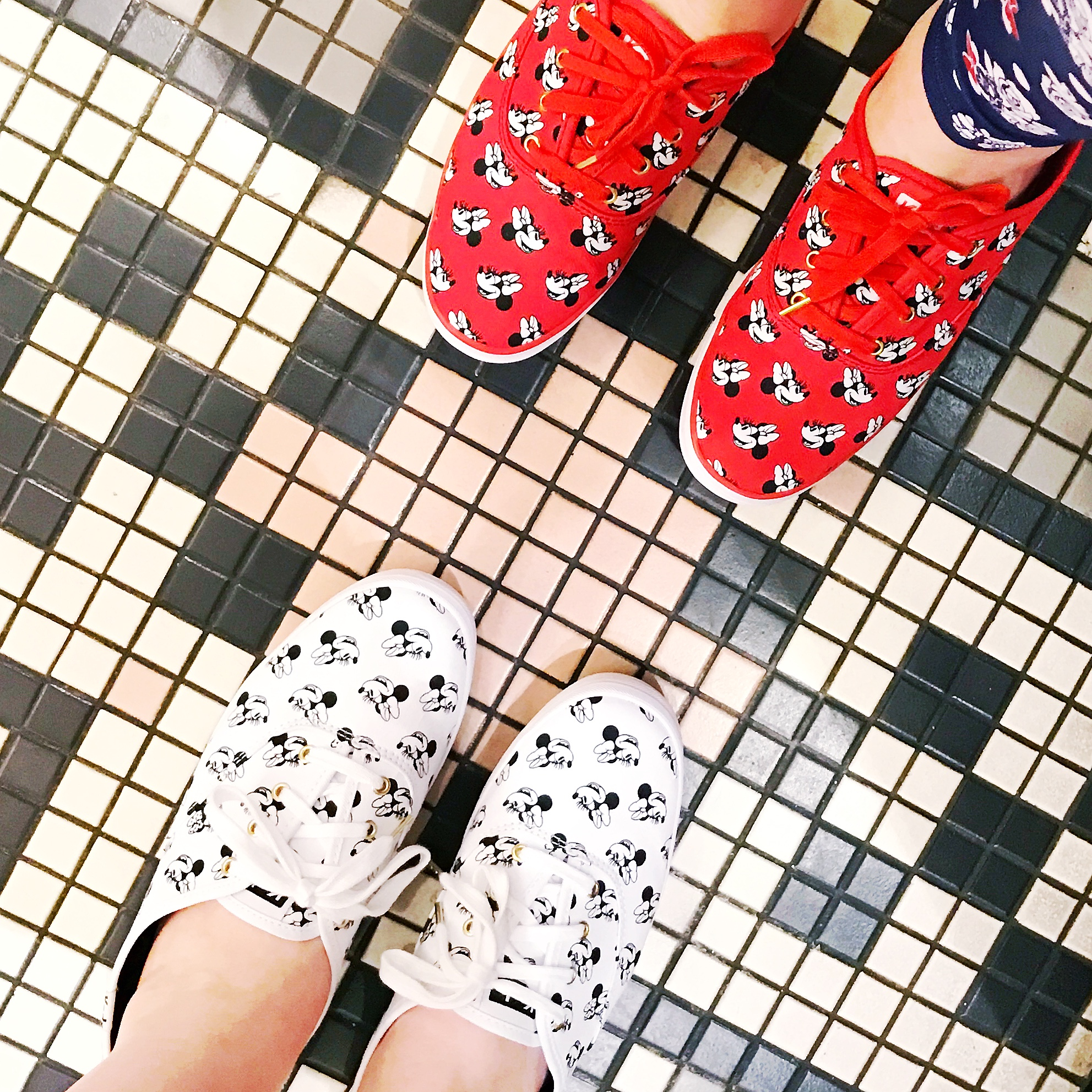 Meghan and I broke in our  Minnie Keds  at Hollywood Studios. You can read more about the Minnie Mouse Keds collab in an earlier post  here .