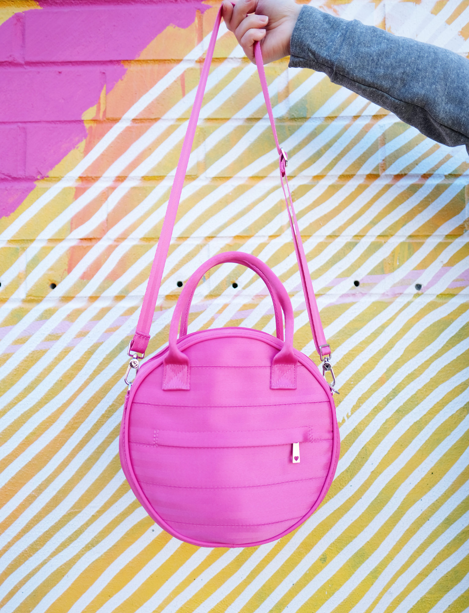Harveys Pink Circle Bag