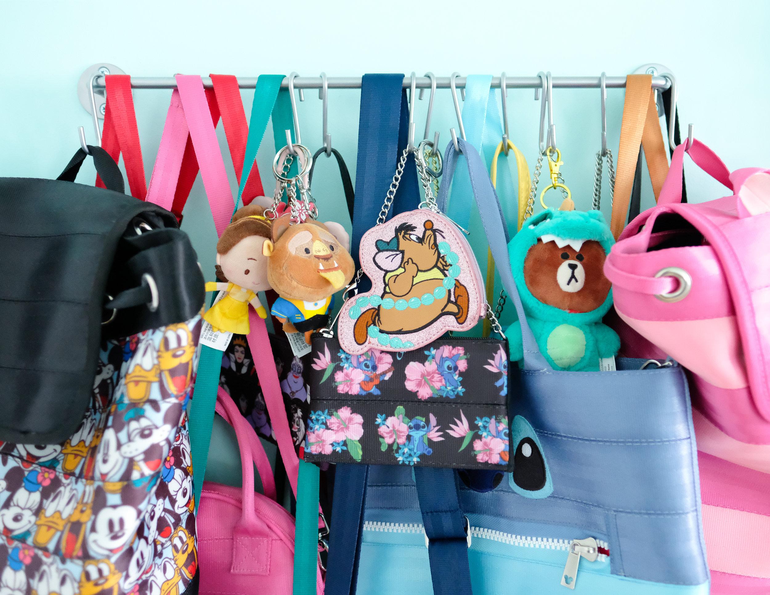 Simple Bag Organization nicolina.co