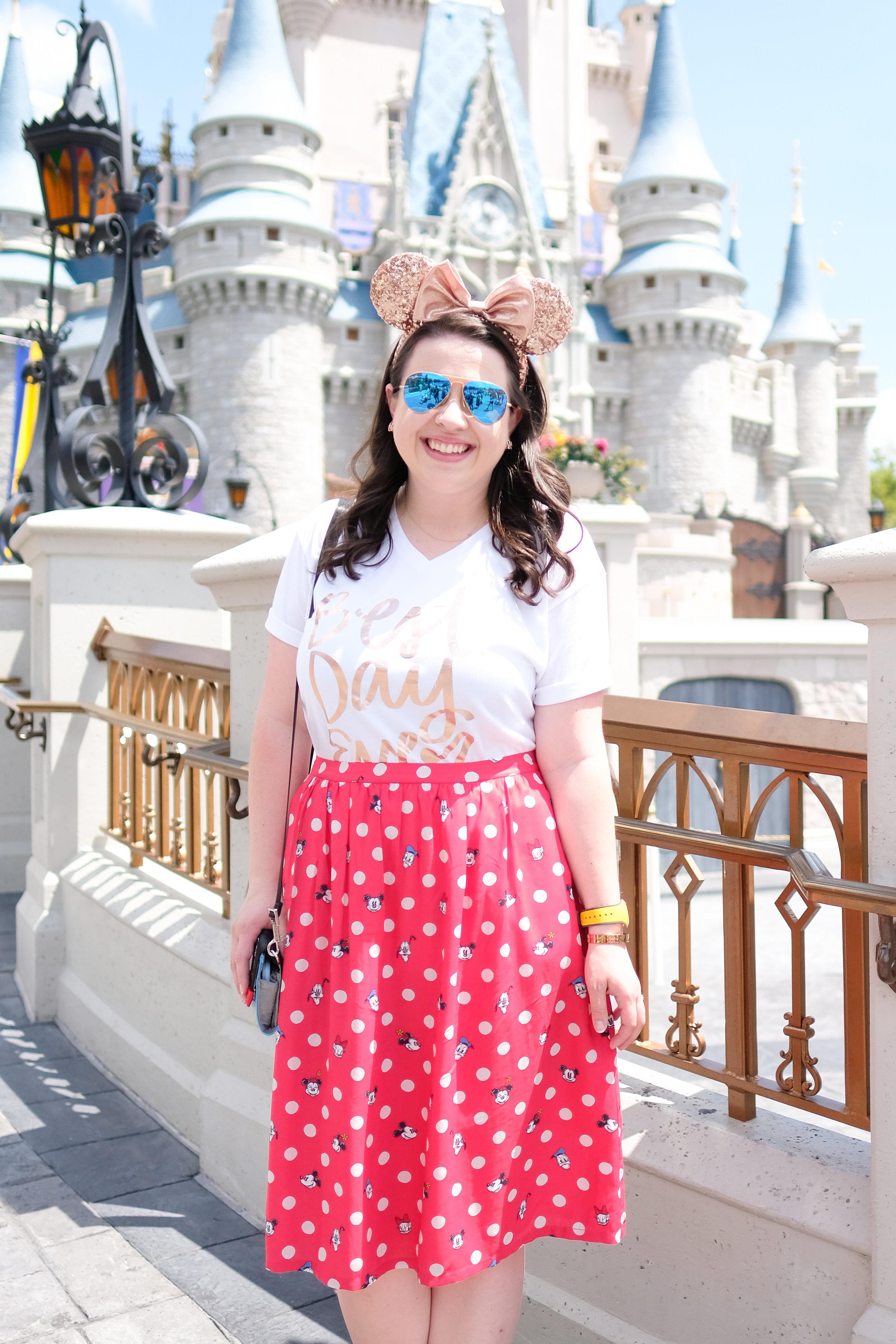 Wear to Disney Magic Kingdom