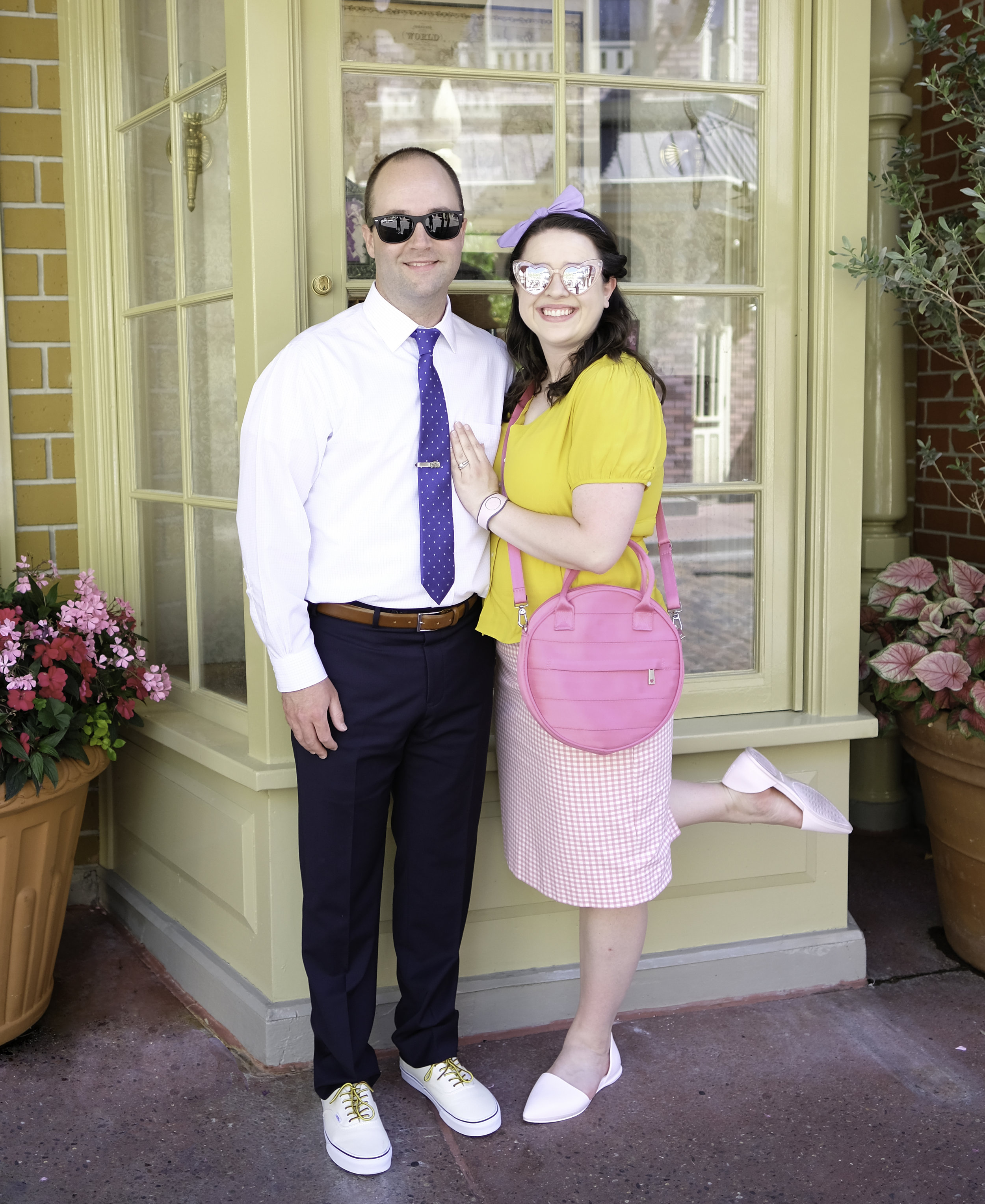 Dapper Day Couples Outfit