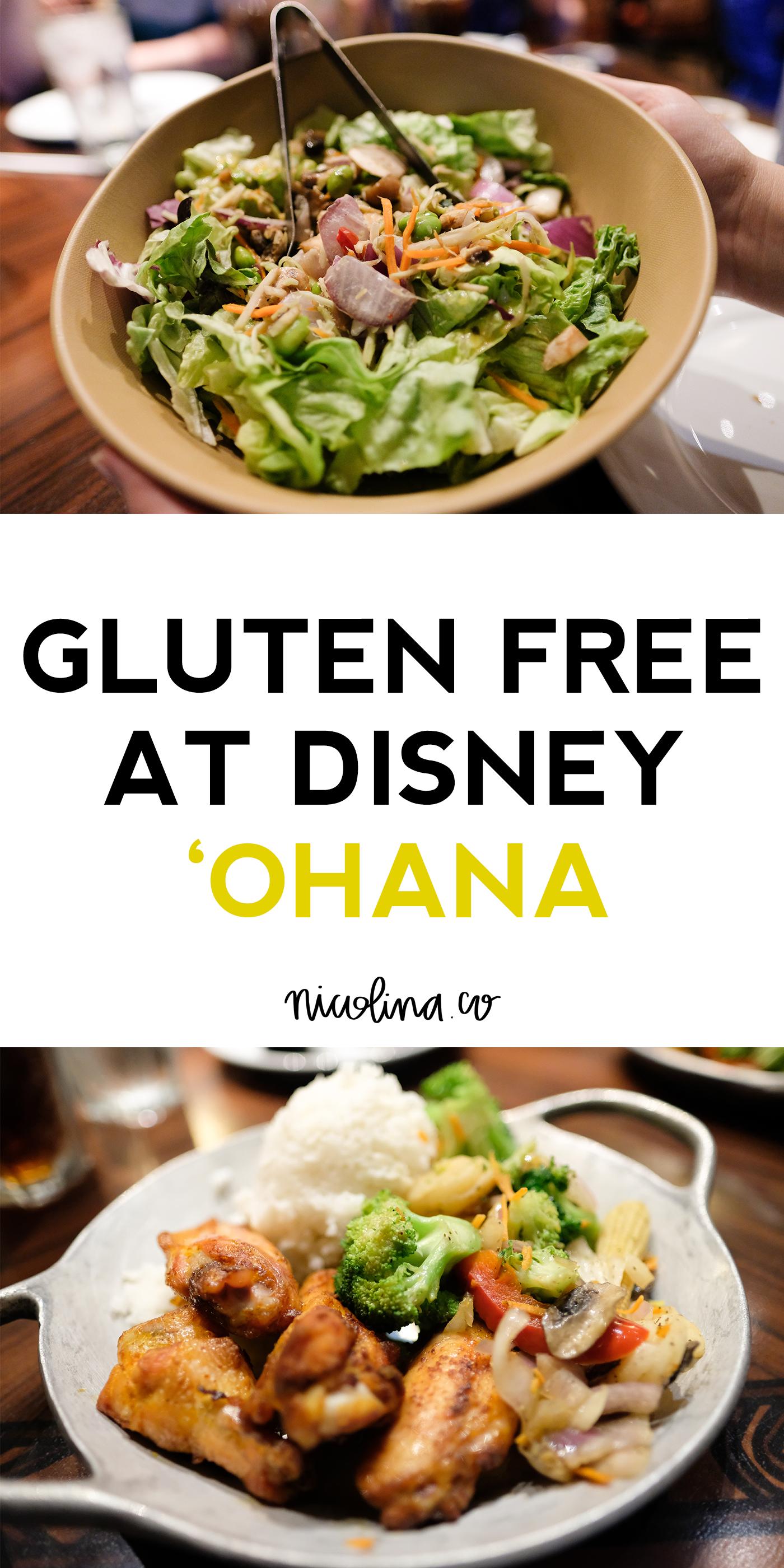 Gluten Free 'Ohana