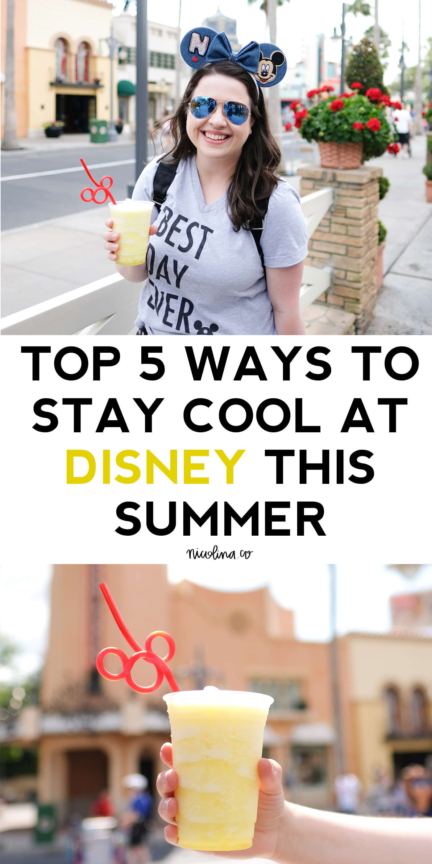 Top 5 Ways to Stay Cool in Disney this Summer