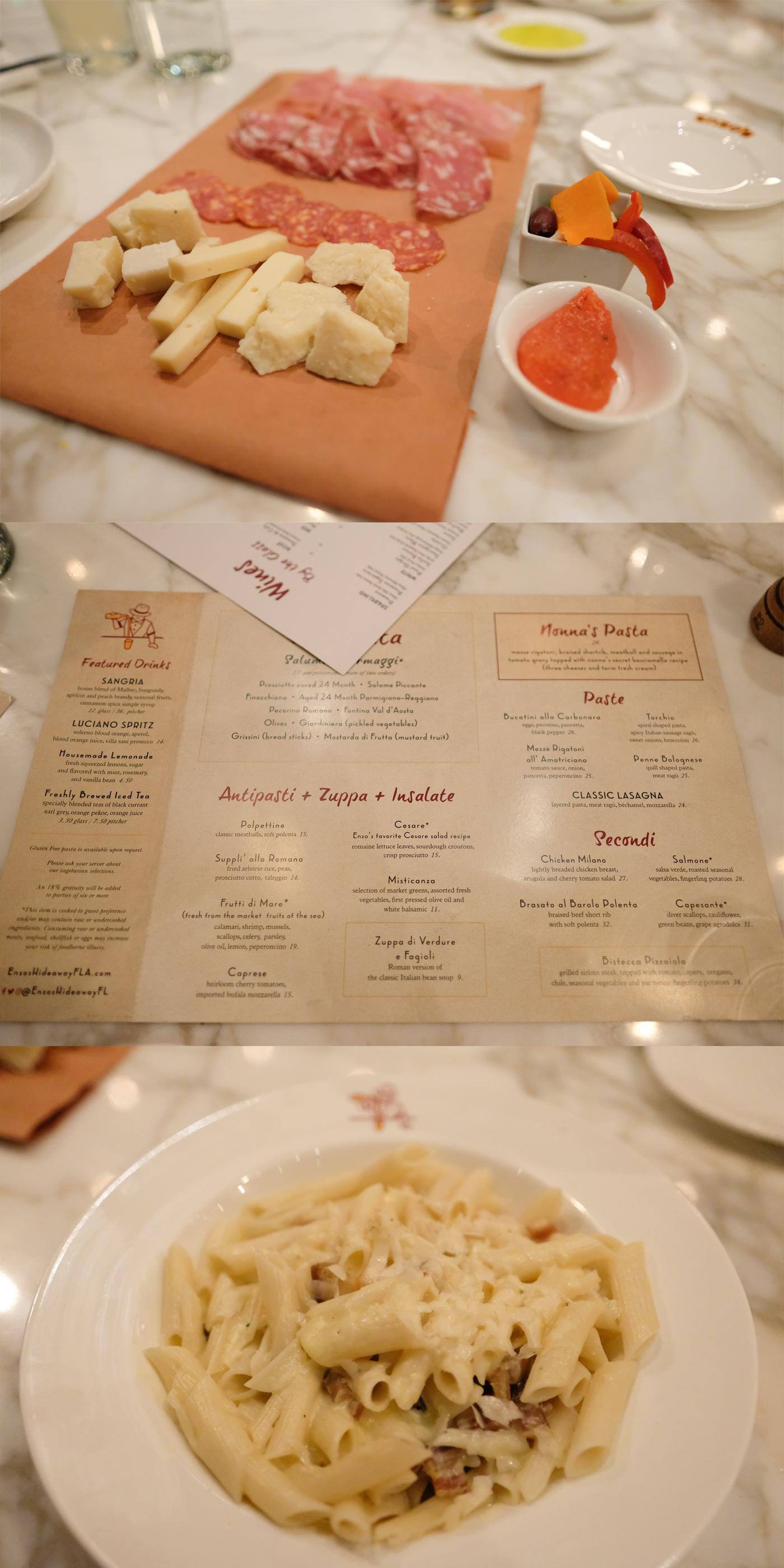 Gluten Free at Walt Disney World - Enzo's Hideaway Tunnel Bar & Restaurant