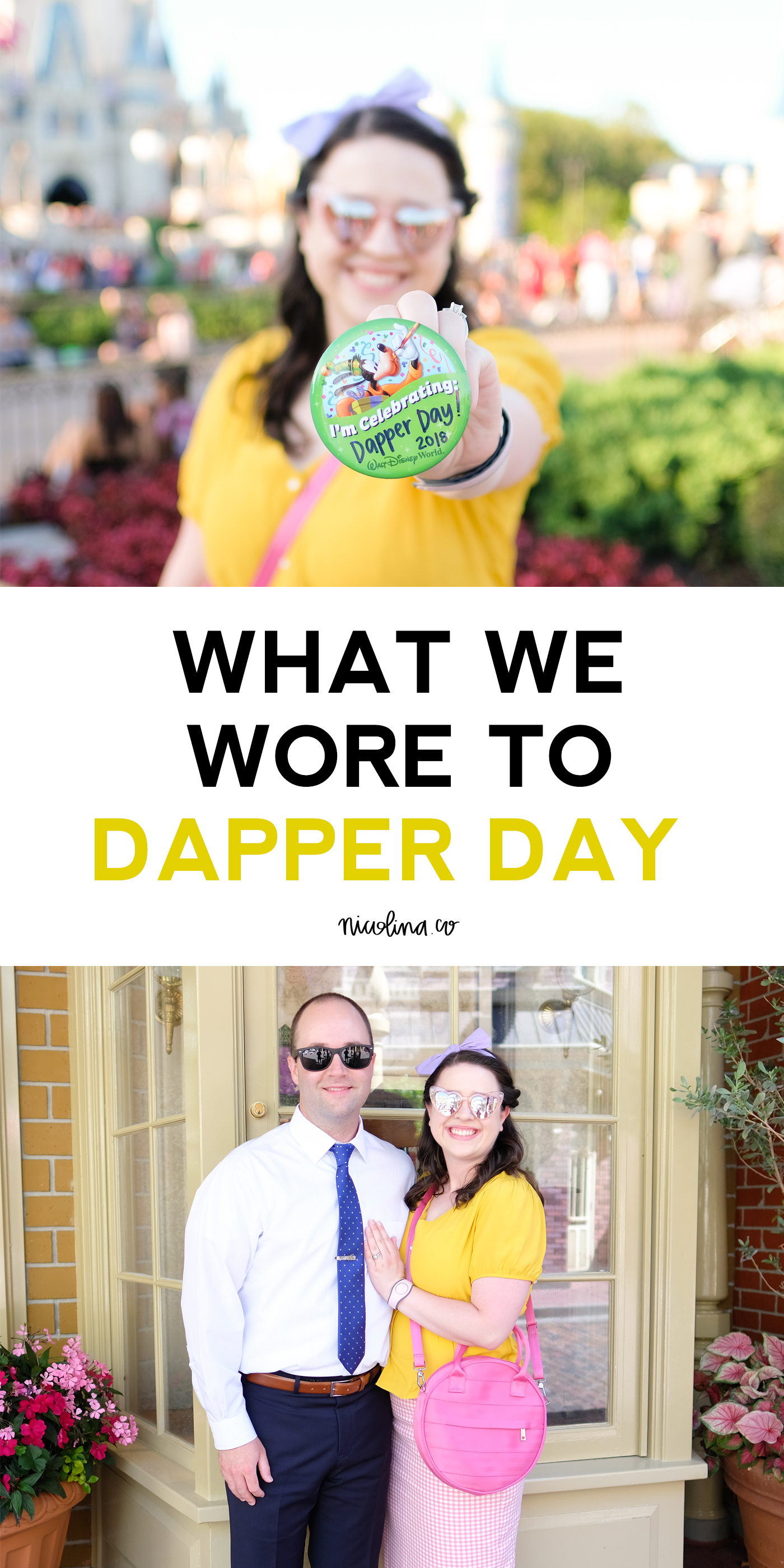 What We Wore to Dapper Day