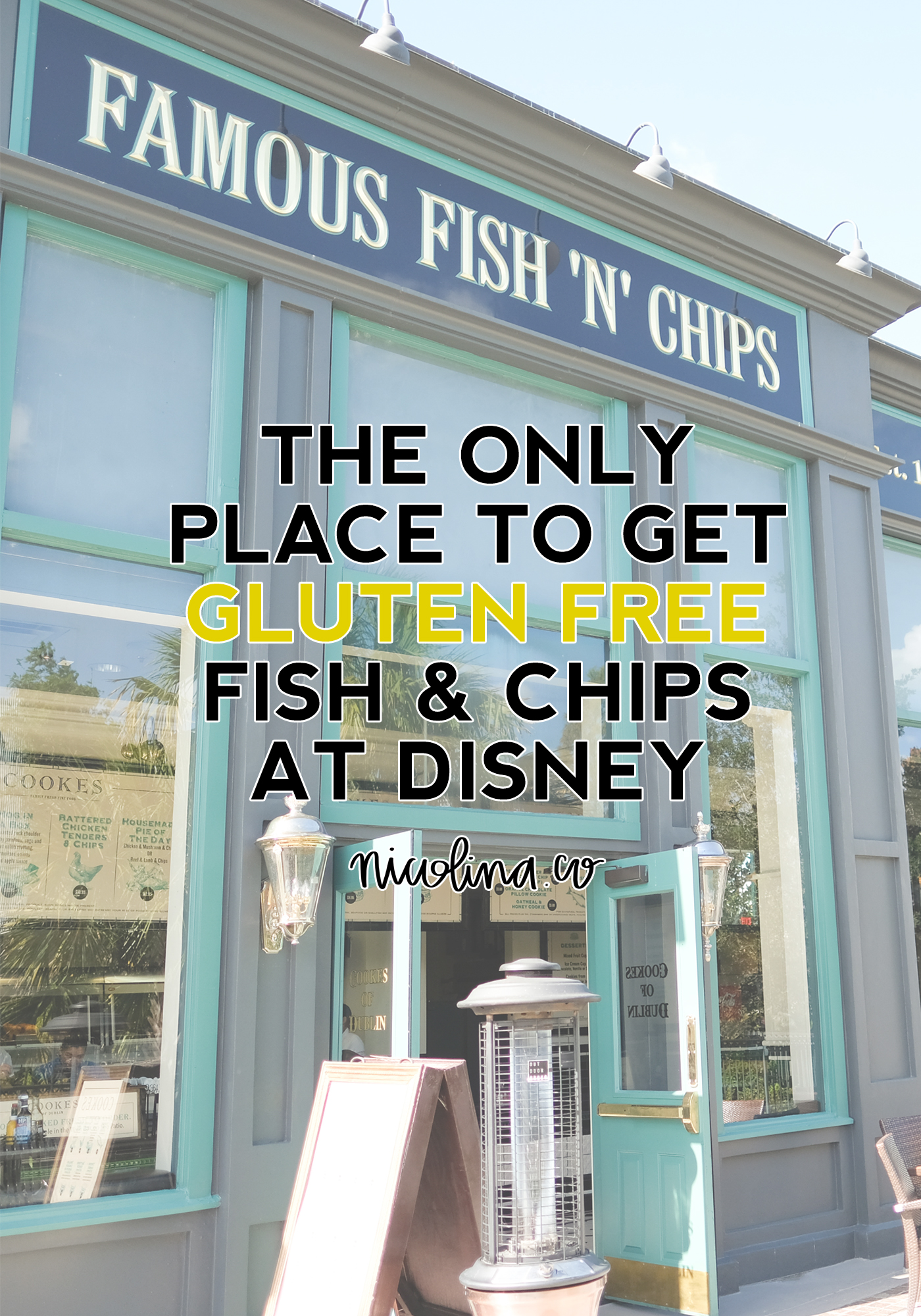 The Only Place to Get Gluten Free Fish and Chips at Disney