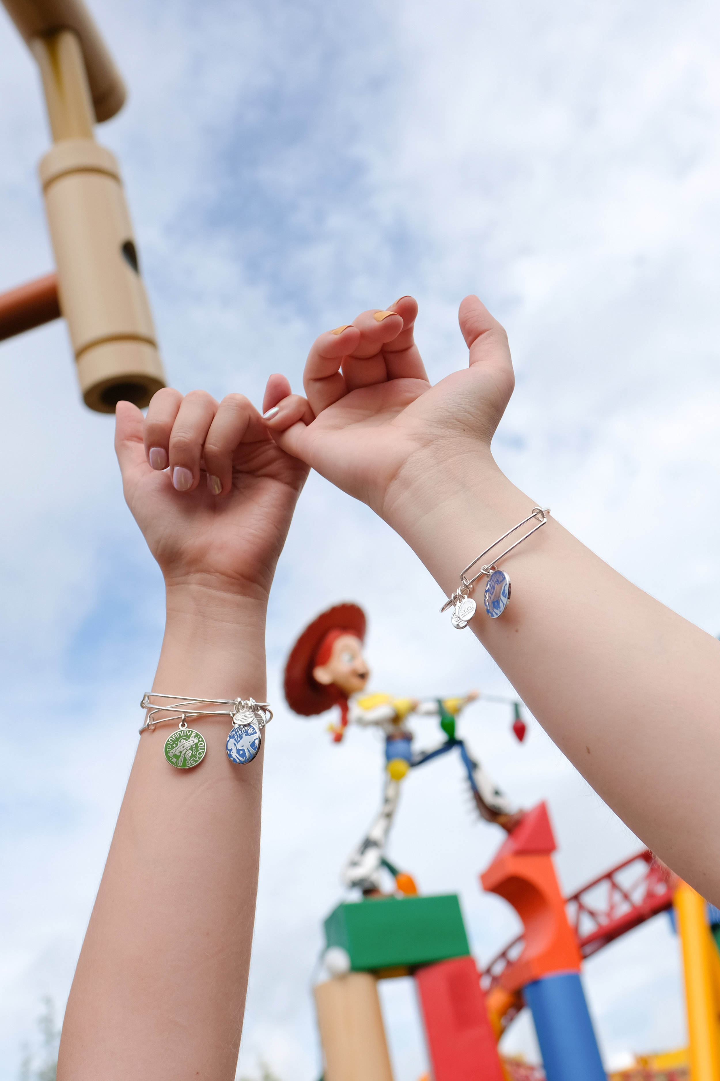 Alex and Ani  bangles available at Ever After Jewelry Co, Disney Springs
