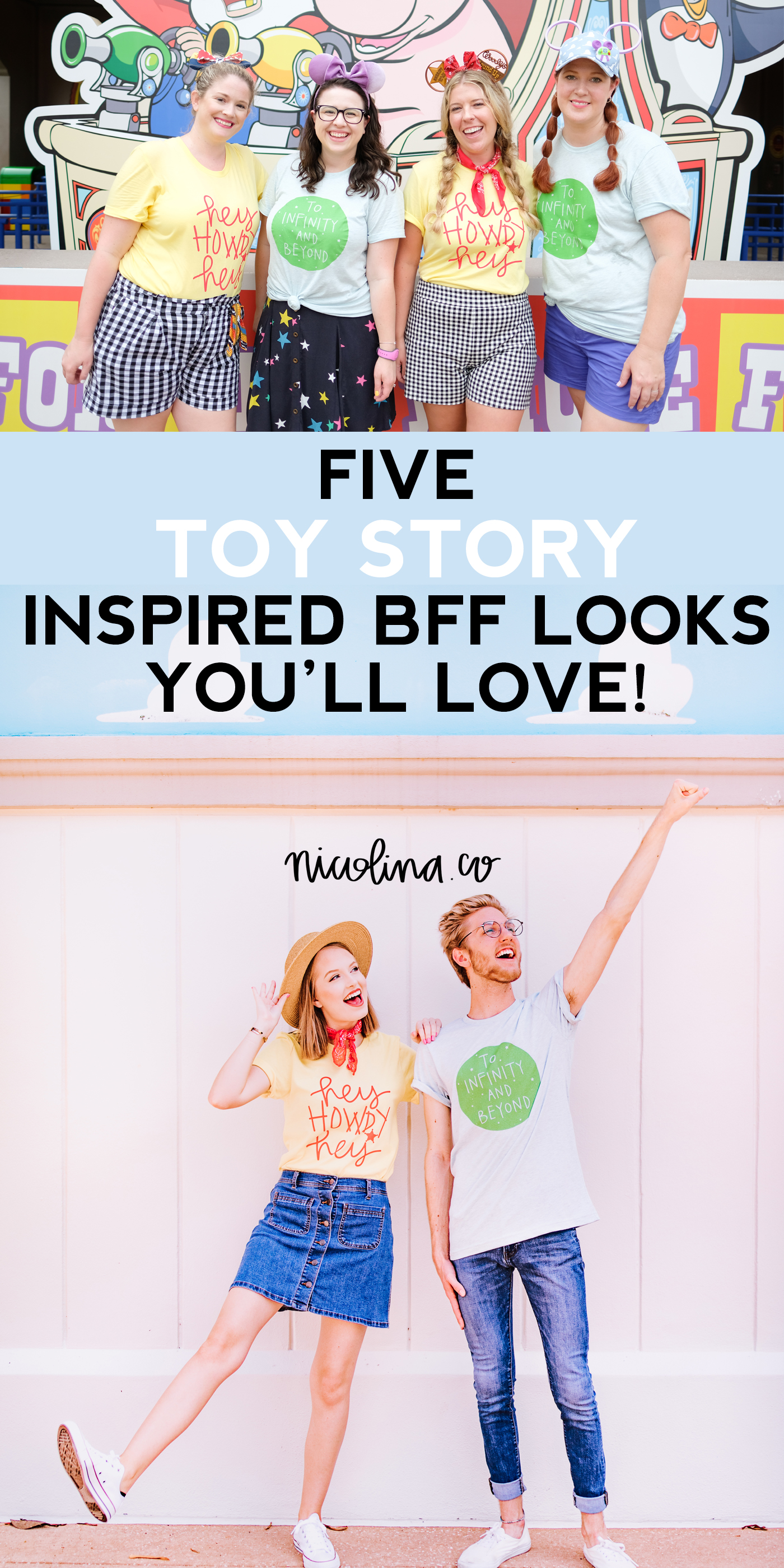 Five Toy Story Inspired BFF Looks You'll Love