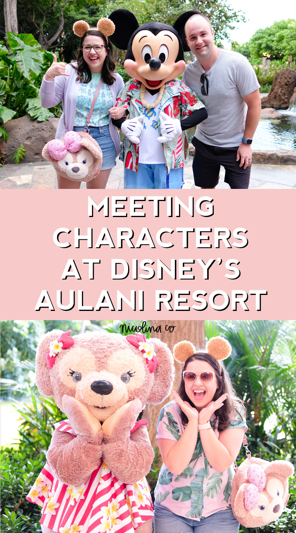 Meeting Characters at Disney's Aulani Resort