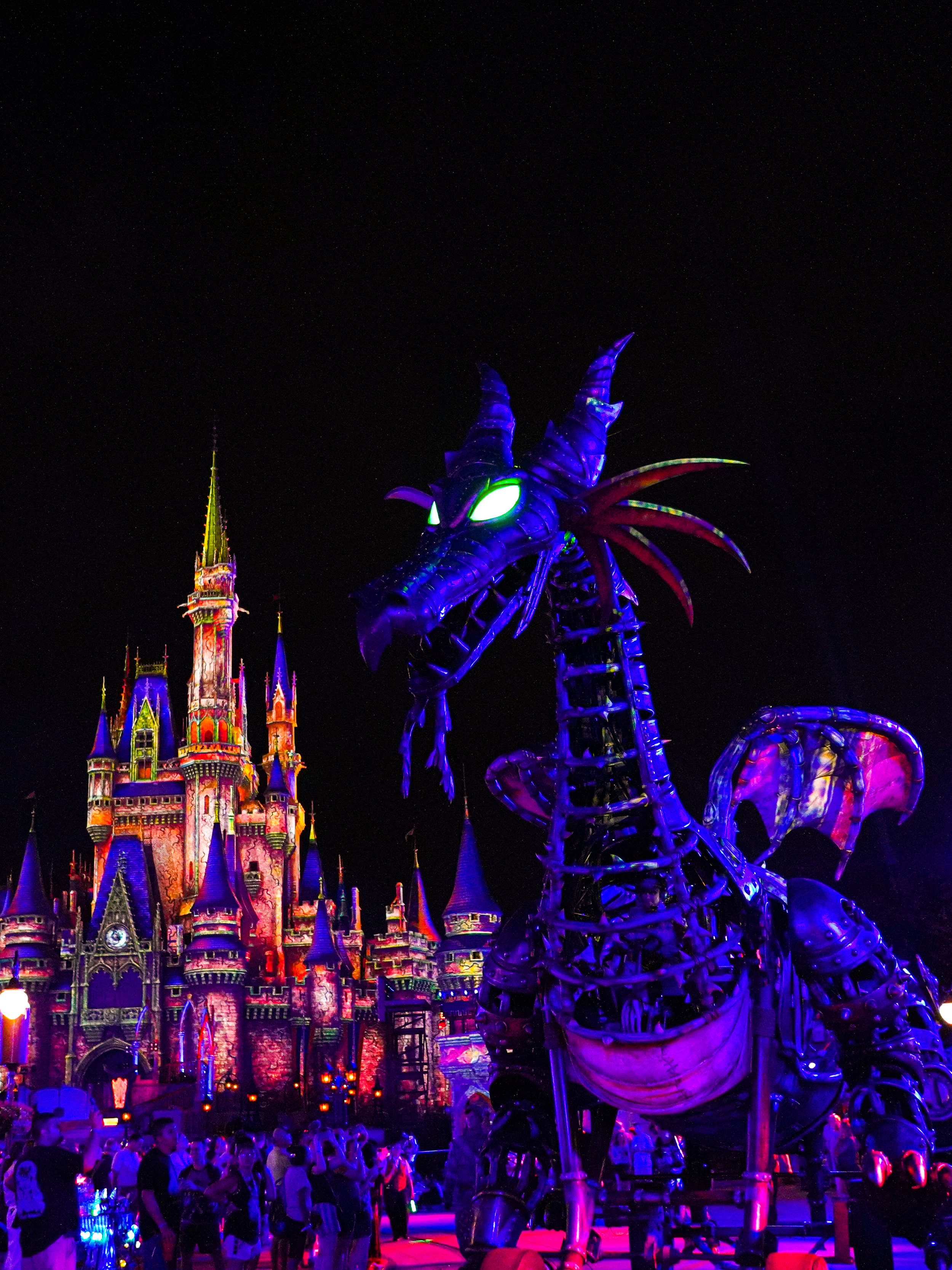 Maleficent making her rounds at Disney Villains After Hours