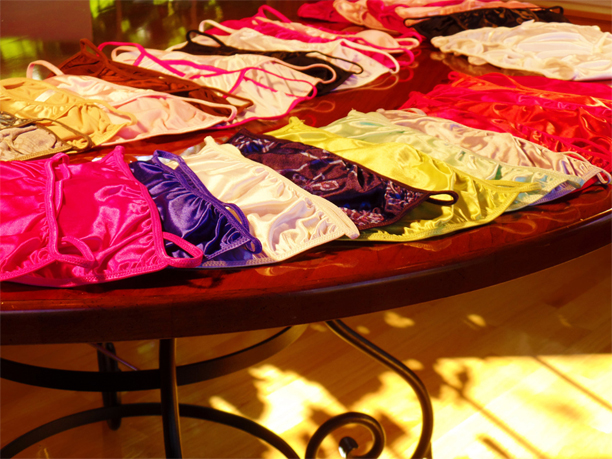 Yes, we have lots and lots of Panties. Why? Silly Q, we Love Panties!!