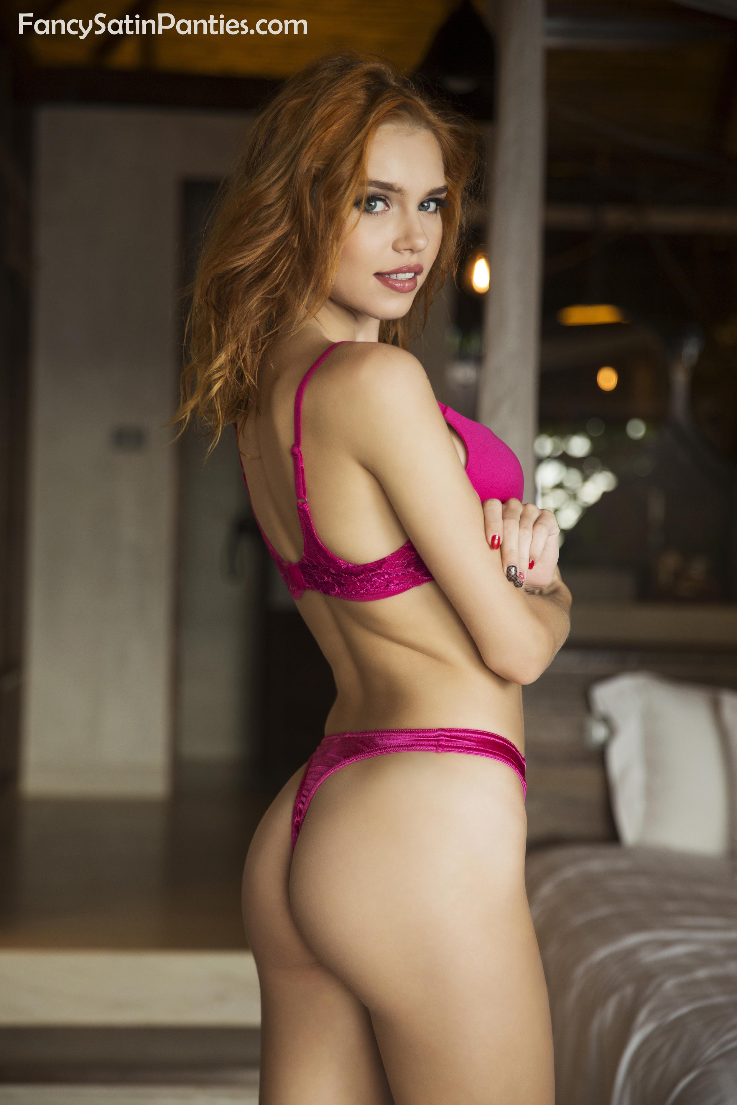 fancy satin panty thong pink 2sitename.jpg