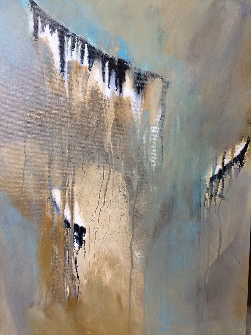 """Flight to Freedom"" 22x28 acrylic on canvas"