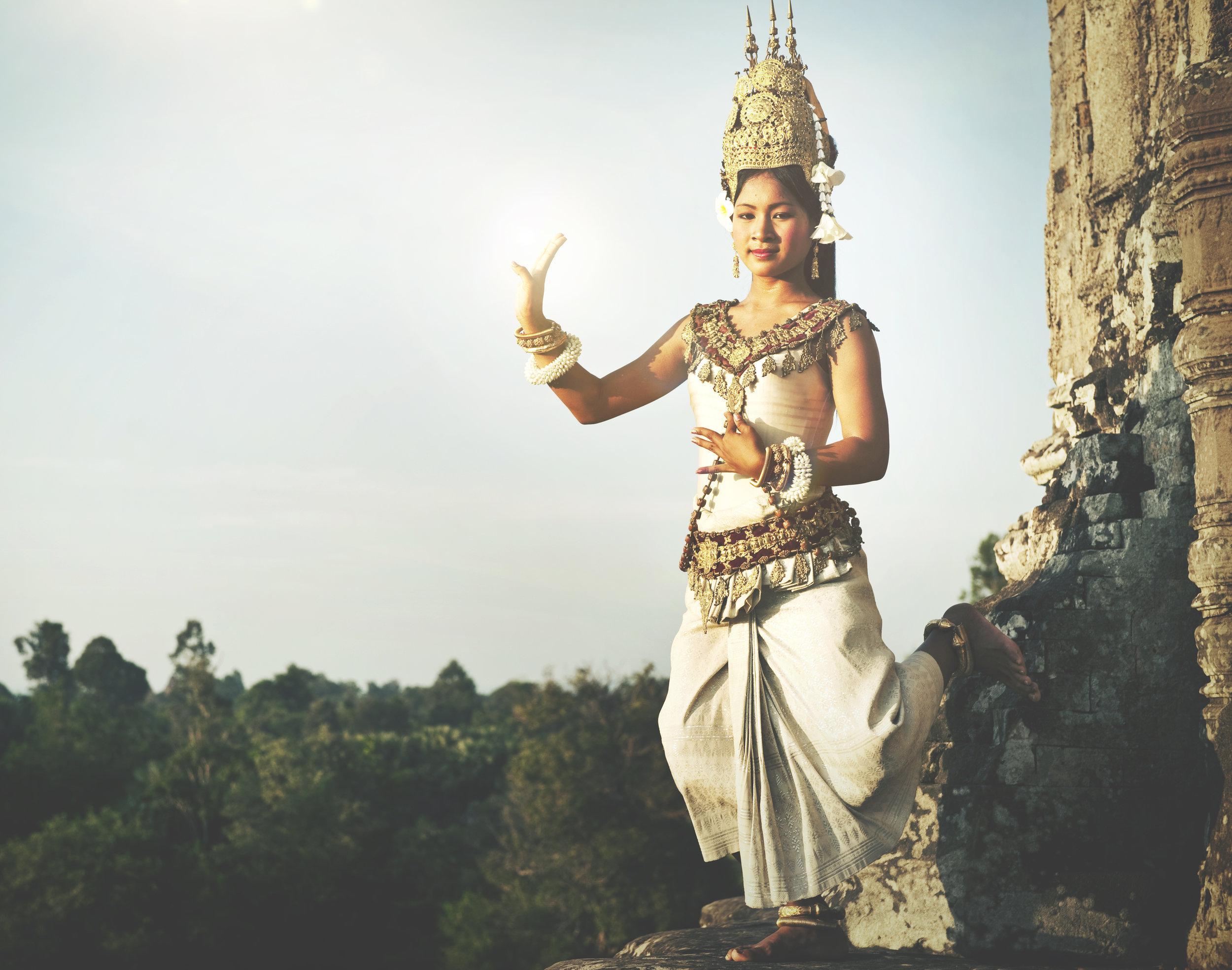 She is sacred dance -