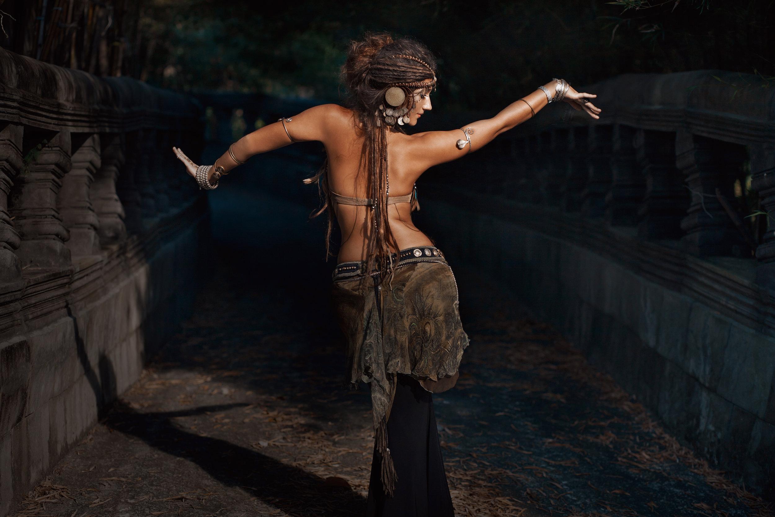 She is soul dancing -