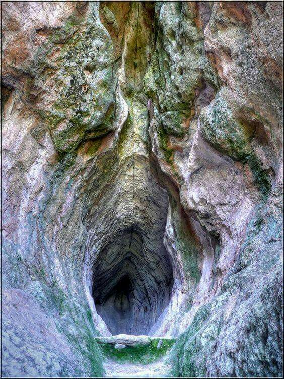 """Thracian sanctuary Utroba cave (""""Womb Cave"""",""""Cave Vulva"""")"""