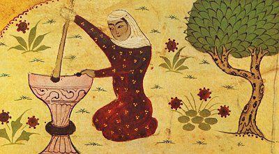 Rabia al-Basri . 717–801 C.E  Public Domain Image .