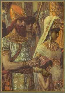 Queen of Sheba.  Public Domain Image .