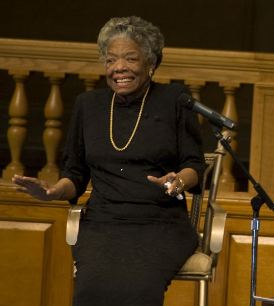 Maya Angelou.  Public Domain Image .